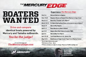 Mercury Edge Schedule